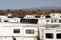 Deserto 2 de acampamento Imagem de Stock Royalty Free