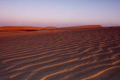 Deserto Imagens de Stock Royalty Free