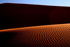 Deserto abstrato Imagem de Stock Royalty Free