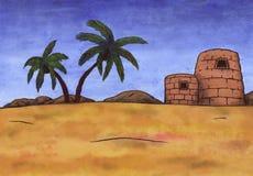 Deserto africano (Zen Pictures II, 2012) Fotografia Stock Libera da Diritti