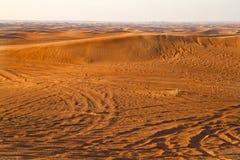 Deserto arabo, Dubai Fotografie Stock