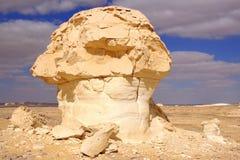 Deserto bianco, Farafra fotografia stock