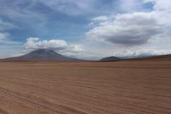 Deserto Bolívia de Sunny Day At The Atacama Imagem de Stock Royalty Free