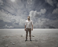Deserto branco Imagem de Stock