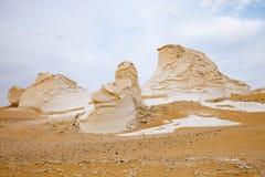 Deserto branco ocidental, Egipto Foto de Stock Royalty Free