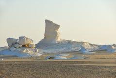 Deserto branco ocidental, Sahara Egypt fotos de stock royalty free