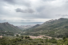 Deserto Castellon Imagem de Stock Royalty Free