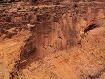 Deserto Cliff Wall Texture em Canyonlands fotografia de stock royalty free