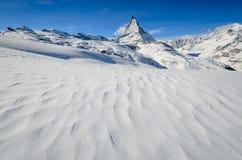 Deserto congelato Fotografie Stock Libere da Diritti