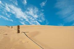 Deserto da areia Foto de Stock
