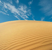Deserto da areia Foto de Stock Royalty Free