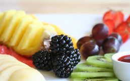 Deserto da fruta Foto de Stock Royalty Free