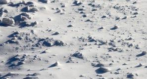 Deserto da neve Fotos de Stock