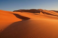 Deserto da solidão Imagens de Stock