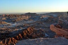 Deserto de Atacama Fotografia de Stock Royalty Free