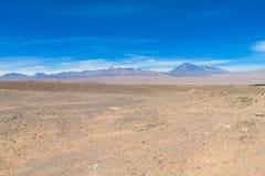 Deserto de Atacama imagem de stock