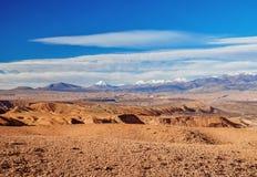 Deserto de Atacama no Chile fotos de stock royalty free