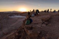 Deserto de Atacama no Chile Fotografia de Stock Royalty Free