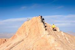 Deserto de Atacama no Chile Imagem de Stock
