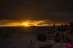 Deserto de Atacama, o Chile Fotos de Stock Royalty Free