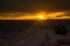Deserto de Atacama, o Chile Imagem de Stock