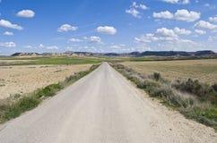 Deserto de Bardenas Reales, Navarra, Spain Fotos de Stock