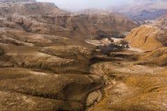 Deserto de Berdenas Reales na Espanha Imagem de Stock