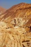 Deserto de Judean perto da costa do mar inoperante. Imagem de Stock