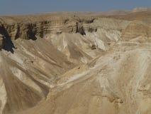 Deserto de Judean perto do Mar Morto em Israel imagens de stock royalty free