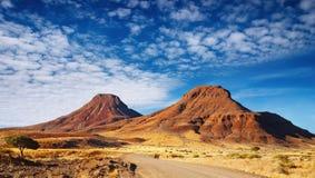 Deserto de Kalahari Fotografia de Stock Royalty Free