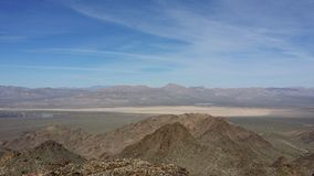 Deserto de Las Vegas imagem de stock