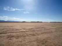 Deserto de Mojave da miragem do EL Imagens de Stock Royalty Free