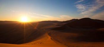 Deserto de Namíbia Fotografia de Stock