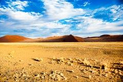 Deserto de Namíbia, África Imagens de Stock