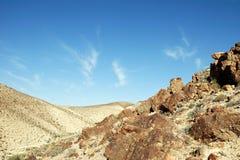 Deserto de pedra Foto de Stock