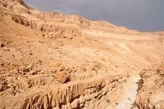 Deserto de pedra em Israel Fotos de Stock Royalty Free