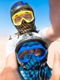 Deserto de Sahara - lazer e curso ativos a Egito fotografia de stock royalty free