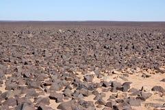Deserto de Sahara, Líbia Fotos de Stock Royalty Free