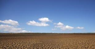Deserto de Sarigua Fotografia de Stock Royalty Free