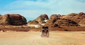 Deserto de Sinai foto de stock