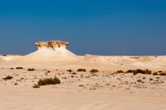 Deserto de Zekreet, Doha, Catar Fotografia de Stock