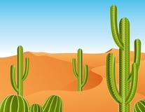 deserto del cactus Fotografie Stock