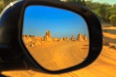 Deserto del culmine 4WD Fotografia Stock