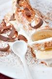 Deserto del gelato Fotografia Stock