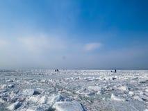 Deserto del ghiaccio Immagine Stock