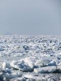 Deserto del ghiaccio Immagini Stock