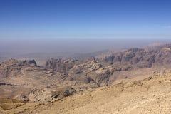 Deserto del Giordano Immagini Stock