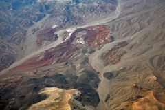 Deserto del Mojave fotografie stock