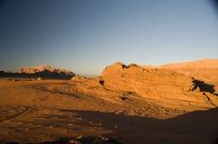 Deserto del rum dei wadi, Giordano Immagine Stock Libera da Diritti