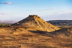 Deserto del Sahara Egypt Fotografia Stock
